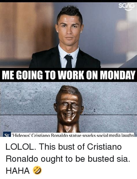 Cristiano Ronaldo Meme - 25 best memes about work on monday work on monday memes