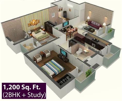 Kerala Home Design Below 1500 Sq Feet 1200 sq ft 2 bhk 2t apartment for sale in the visava group