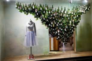Wine Glasses Chandelier Check Out These Cool Holiday Windows