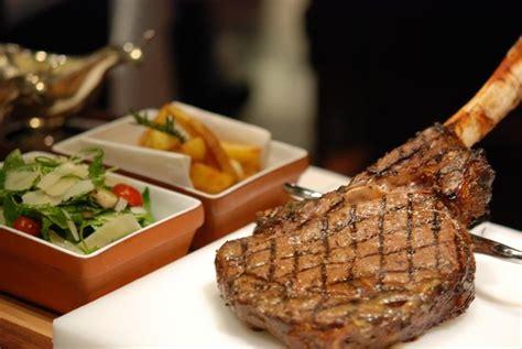 new york steak house tomahawk steak picture of new york steakhouse at the jw marriott hotel bangkok