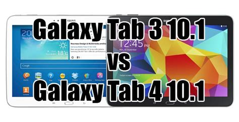 Samsung Tab 3 Vs Tab 4 galaxy tab 3 vs tab 4 le combat des tablettes 10 pouces androidpit