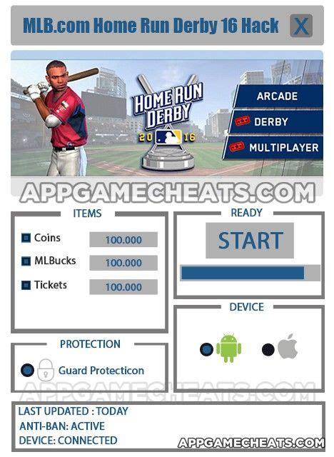 mlb home run derby 16 cheats tips hack for coins