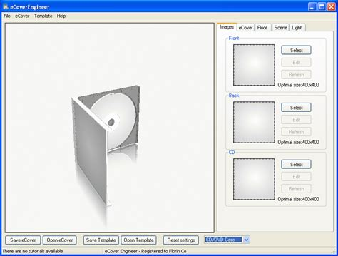 Cd Etiketten Drucken Freeware by Boxen Cover Maker Ecover Engineer 6 0 Freeware De