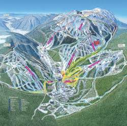 western canada ski resorts map sun peaks ski resort guide location map sun peaks ski