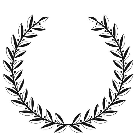 Amanda Rapp Design Free Printable Laurel Wreath How To Make Your Own Wreath Template