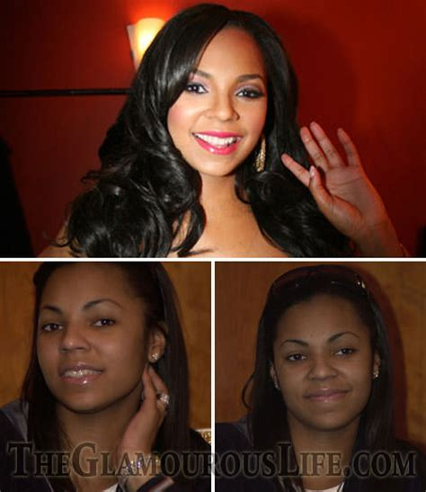 Make Up Ashanty Hairstyles Ashanti With Without Makeup