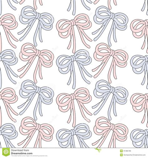 seamless ribbon pattern seamless background pattern of ribbon bow royalty free