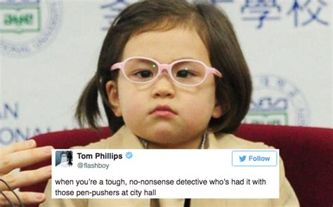 Bbc Memes - bbc kid s fierce press conference look has inspired a