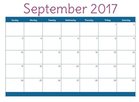 printable monthly calendar september 2017 september 2017 calendar uk calendar template letter