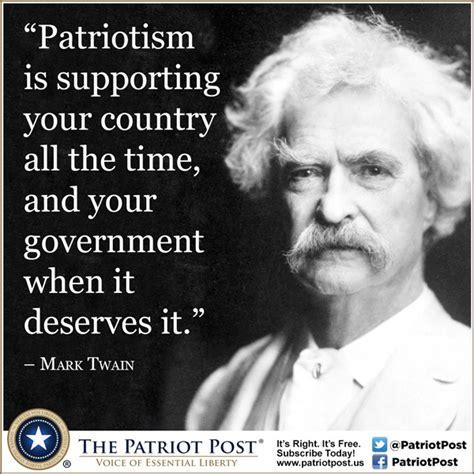Mark Twain Memes - quote mark twain the patriot post
