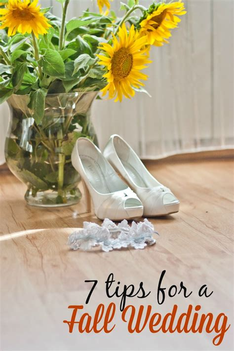 7 Ideas For A Fall Wedding by Fall Wedding Ideas