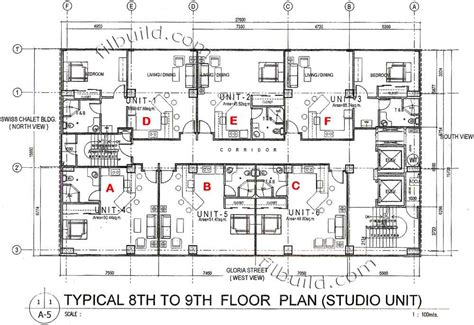 floor plan hotel condo sale at the lexus in angeles city panga