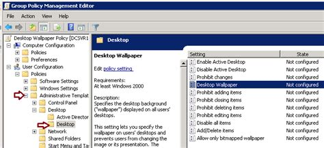 desktop wallpaper via group policy how to apply desktop wallpaper using group policy
