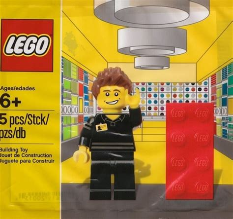 Sale Lego 5001622 Lego Store Employee toys n bricks lego news site sales deals reviews mocs new sets and more