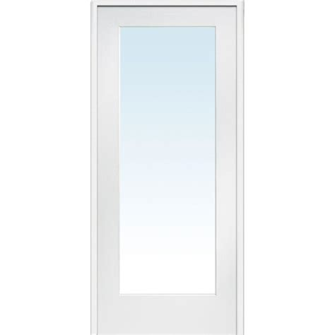 Builder S Choice 48 In X 80 In 10 Lite Clear Wood Pine Light Interior Door