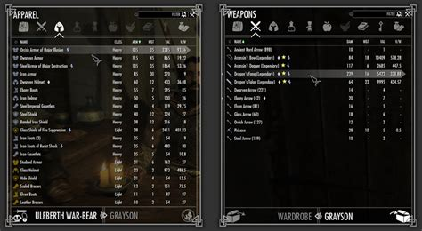button layout for skyrim pc skyui at skyrim nexus mods and community