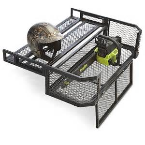 guide gear atv rear drop basket 184629 racks bags at