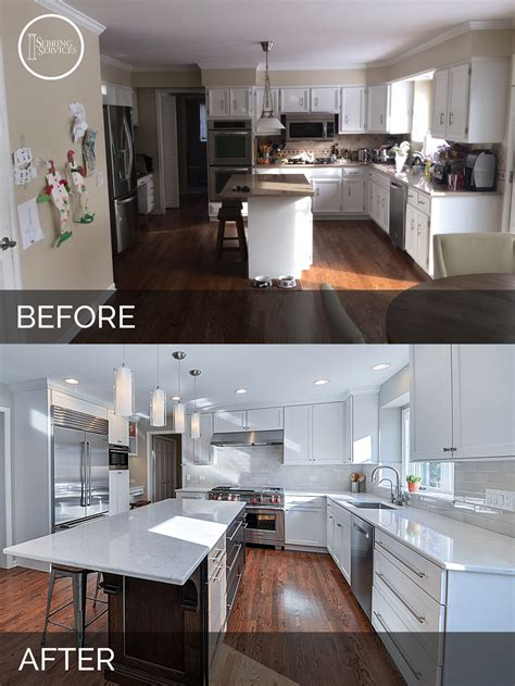 home design before and after before and after kitchen remodeling 0666351 sebring