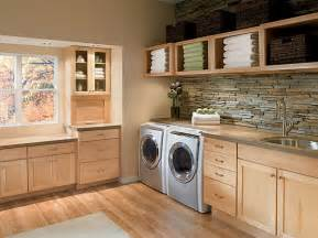 White Accent Cabinet Organize Your Laundry Room In Style