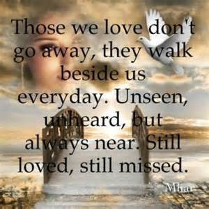 in the afterlife all that is loved is never lost