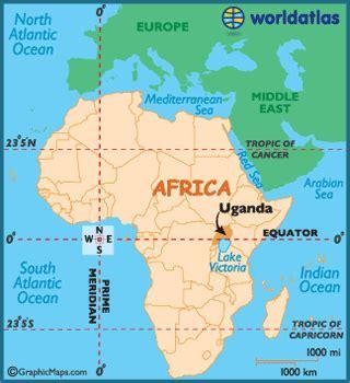 uganda on world map uganda map geography of uganda map of uganda