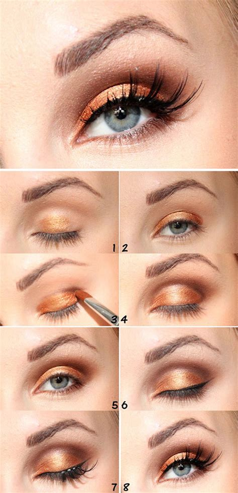 tutorial makeup basic 12 easy simple fall makeup tutorials for beginners