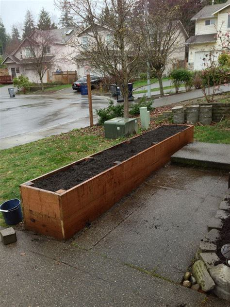 How To Make A Raised Bed Planter by Diy Raised Bed Planters Diy Survival