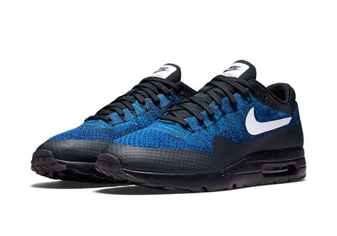 Nike Air Max 1 Ultra Flyknit Black nike air max 1 ultra flyknit release date sneaker bar detroit