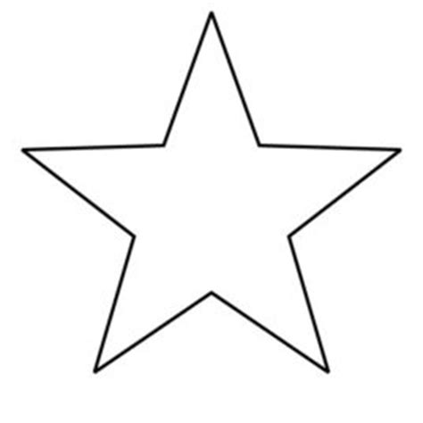 small star coloring page small star outline clipart clipartfest small star coloring