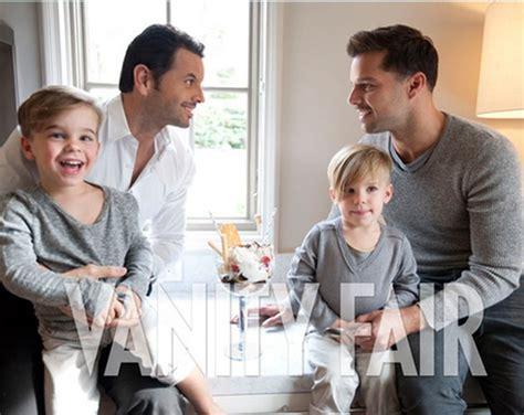 Ricky Martin posa con su novio y sus hijos en 'Vanity Fair ... Mama De Los Hijos De Ricky Martin