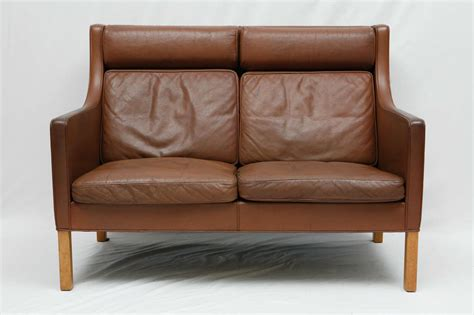 leather settees borge mogensen leather settee for sale at 1stdibs