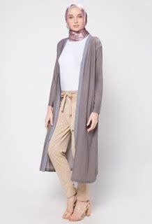 Outer Rompi Outerwear 30 model outerwear muslimah yang paling trend terbaru
