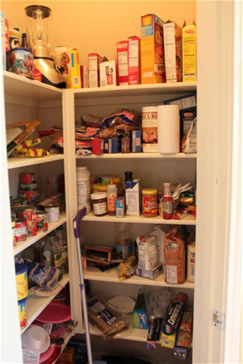 remodelaholic newly organized pantry closet guest remodel