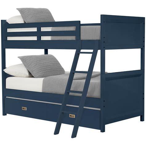 City Furniture Bunk Beds City Furniture Dk Blue Trundle Bunk Bed