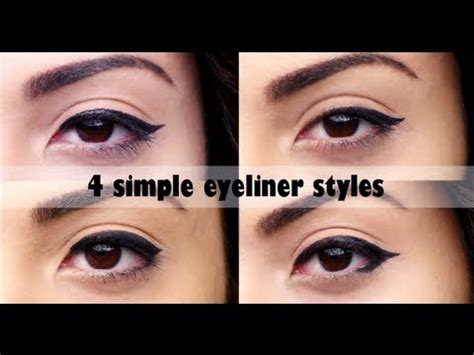 easy eyeliner tutorial youtube eyeliner tutorial simple www pixshark com images