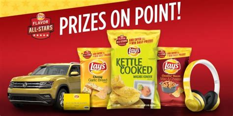 Frito Lay Game Giveaway Codes - 2017 lay s flavor all stars sweepstakes your favorite flavors are back