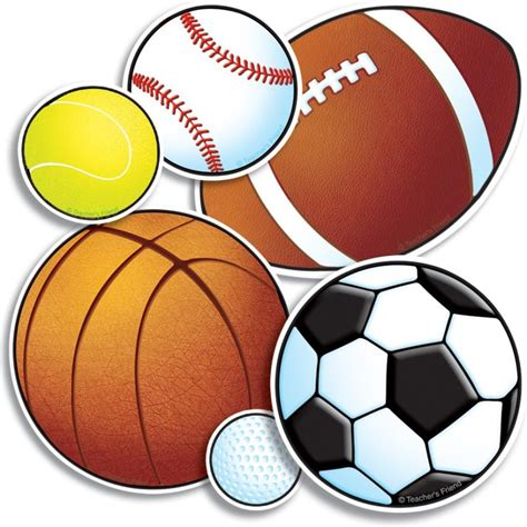 sports clipart best sports balls clipart 20108 clipartion