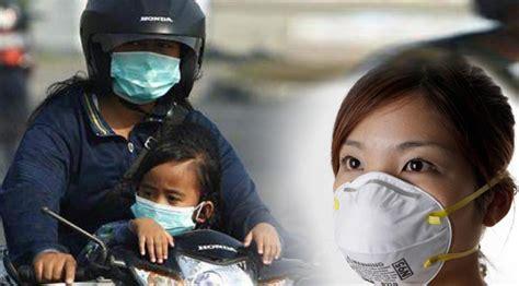 Masker Asap penggunaan masker pada asap kebakaran hutan sehat negeriku