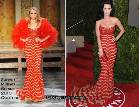runway to 2010 vanity fair oscar katy perry in