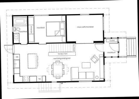 floor plans with open kitchen to the living room modern interior design ideas part 5