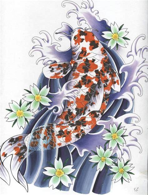 japanese koi tattoo wallpaper japanese koi tattoo by gruenerlauch on deviantart