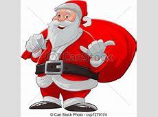 Hang loose santa claus. Santa claus doing a hang loose and ... Clip Art Hang Loose