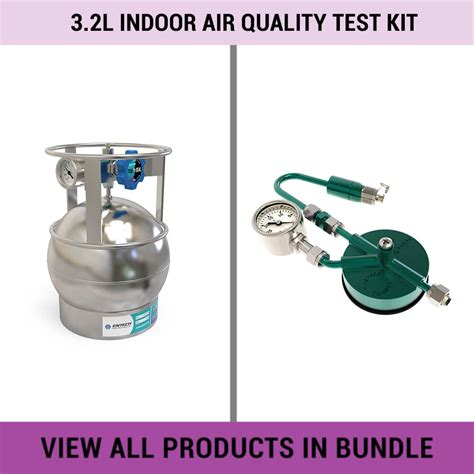 air quality test kit 3 2l indoor air quality test kit entech instruments