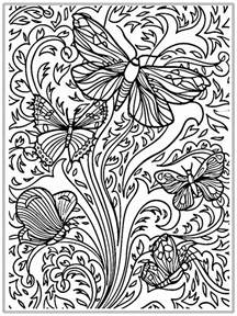 butterfly coloring pages for adults coloring pages butterfly realistic coloring pages