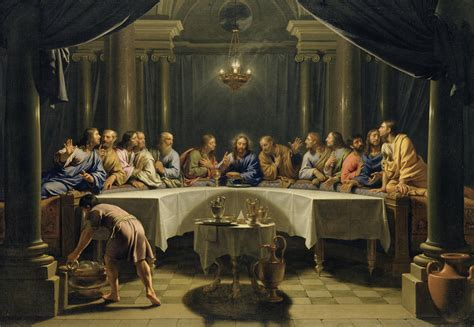 Bible Wall Murals the last supper painting by jean baptiste de champaigne
