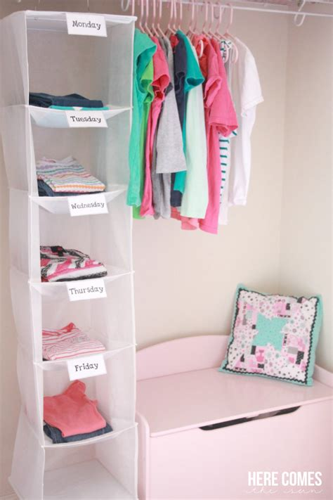 Weekly Closet Organizer by 18 Ways To Store Clothes Not In A Pile
