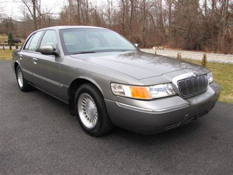 2001 mercury grand marquis ls for sale 998 buy used 2001 mercury grand marquis ls 47k orig miles 1 owner outstanding orig cond in