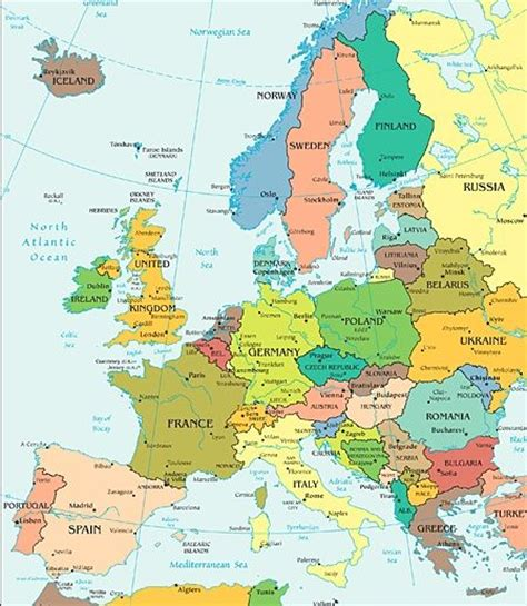 map showing europe map of europe maps maps search and europe