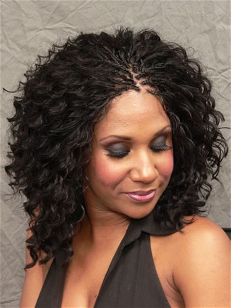 black braids hairstyles for women wet and wavy micro braids wet and wavy thirstyroots com black hairstyles