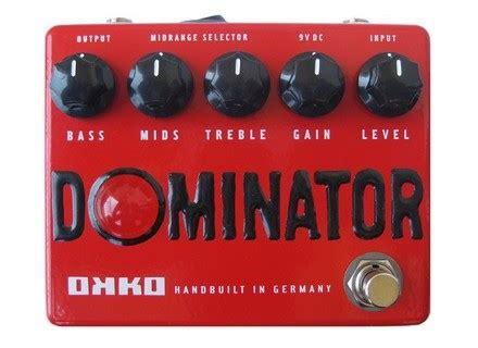 Dominator Mkii Okko Pedal okko dominator image 714883 audiofanzine